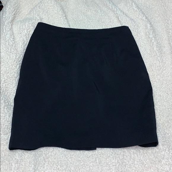 Dresses & Skirts - Navy Pencil Skirt w/ Pockets